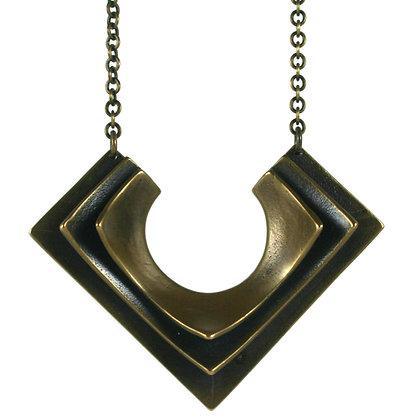 Lena necklace-bronze