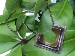 Lena Necklace- bronze