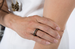 Banu Ring & Necklace-bronze