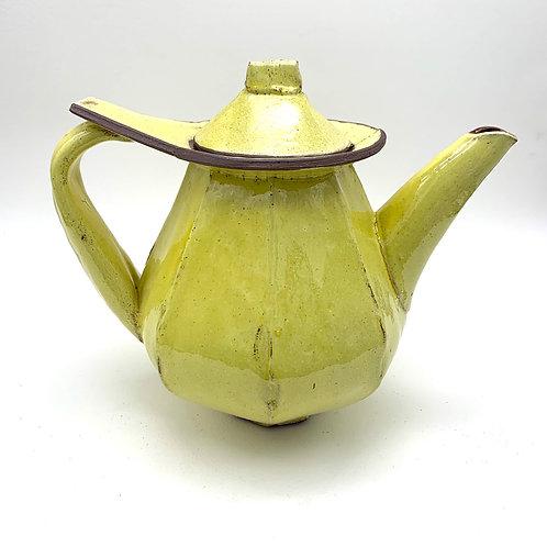 11. Teapot with yellow glaze