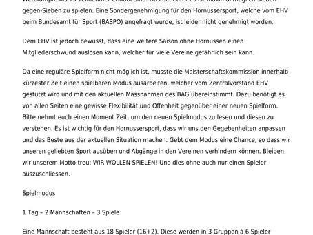 Info Schweizermeisterschaft 2021