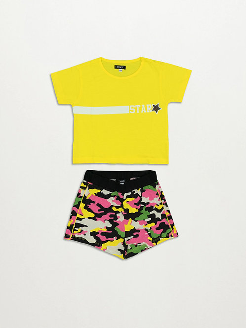 5555 SET T-SHIRT / SHORTS