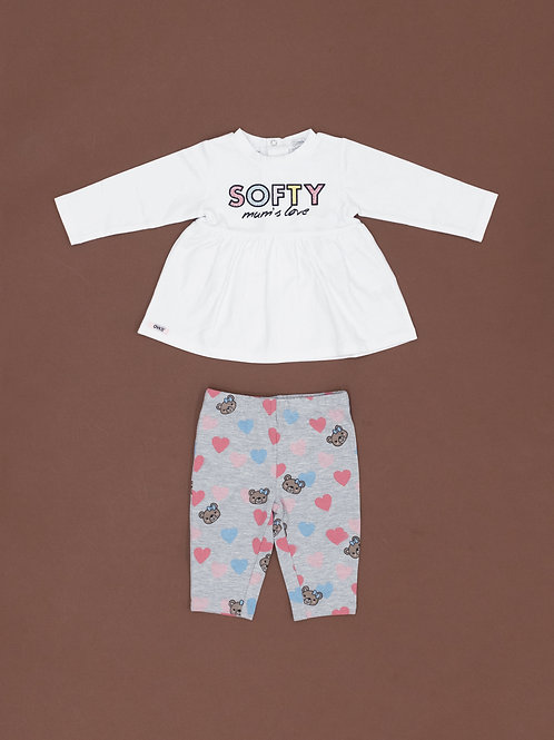 3008 SET T-SHIRT/LEGGINGS