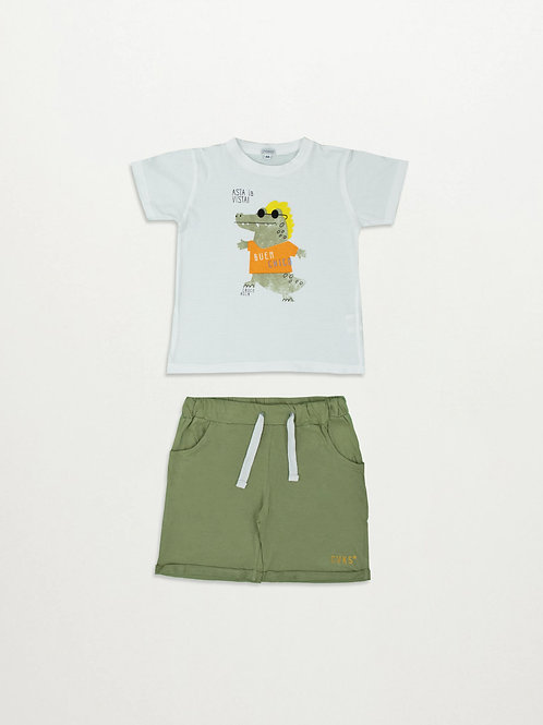 5525 SET T-SHIRT / SHORTS