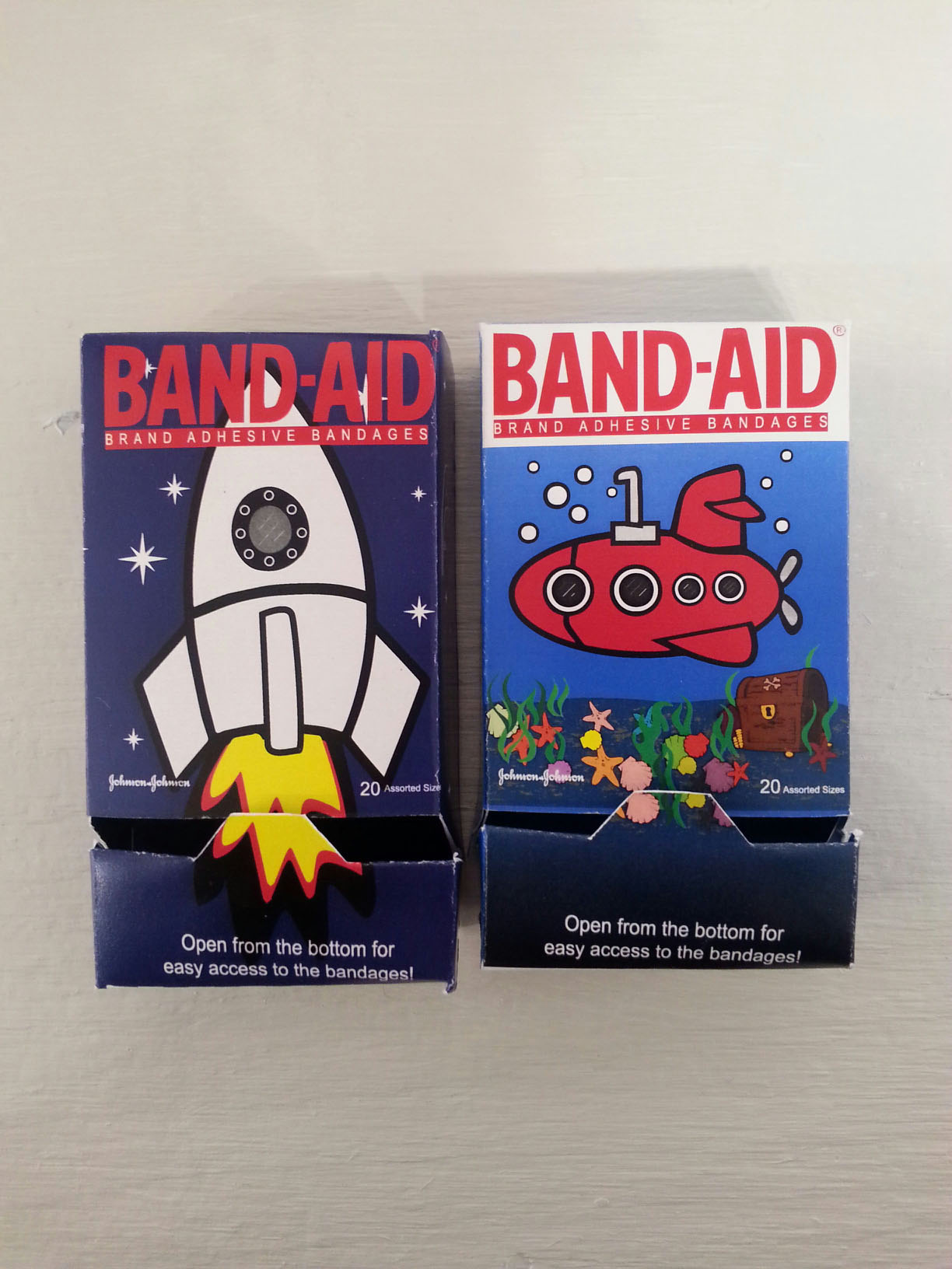Band Aid packaging design