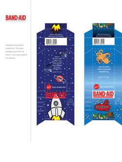 Band Aid package design