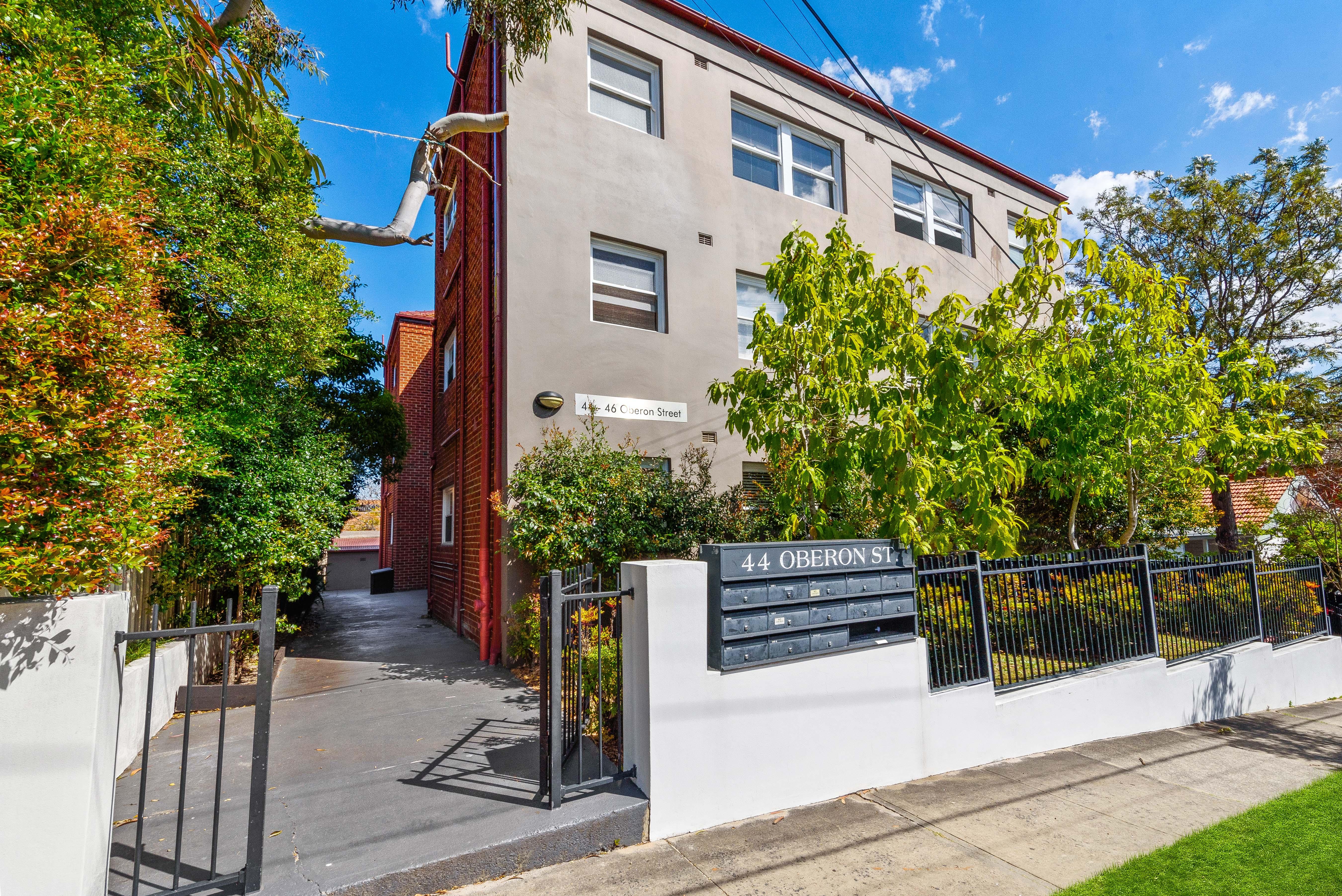 Apartment 1 44 Oberon Street Randwick A