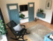 Ferienhaus Lünswilken Wohnzimmer