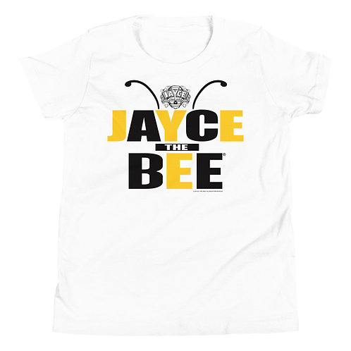 JAYCE THE BEE: Rock The Bee Youth Short Sleeve T-Shirt