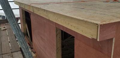 timber faced dormer on loft conversion.j