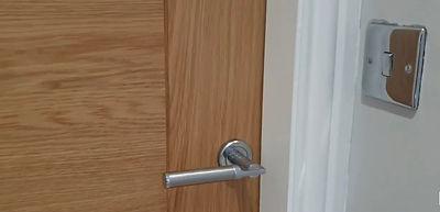 door handle in lofy conversion.jpg