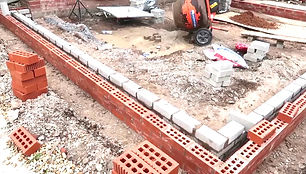 brick work up to damp proof course.JPG