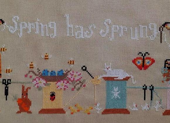 Stitching Spring