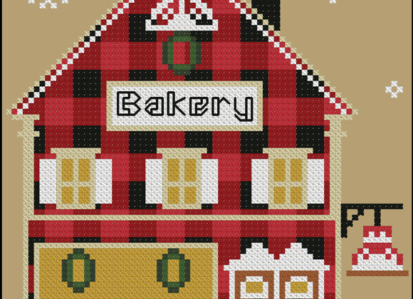 Rustic Christmas Series Bakery