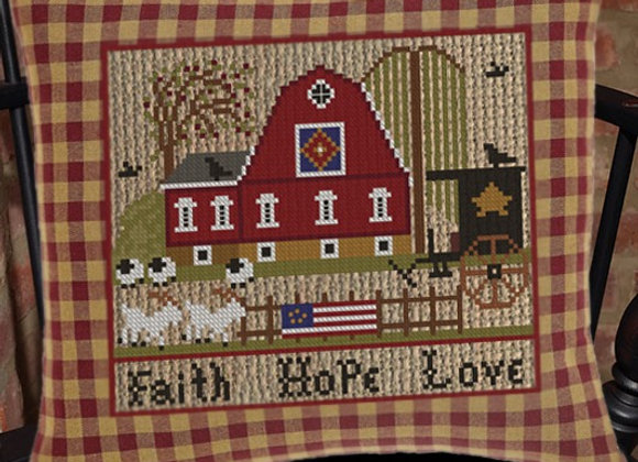 "A Patriotic Summer Series ""Faith Hope Love"""