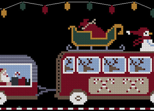 """Hit The Road Series """"North Pole Express"""""""