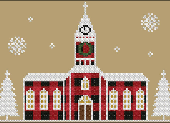 Rustic Christmas Series Church
