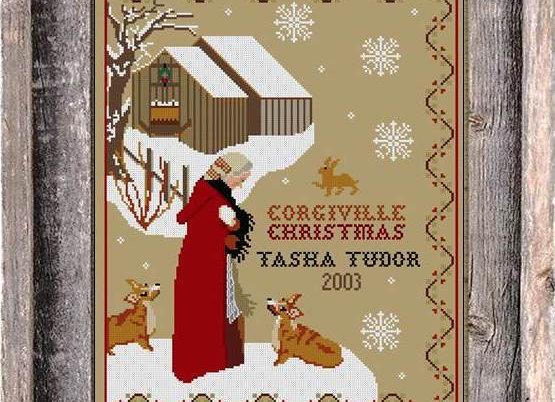 Tasha Tudor Corgiville Christmas