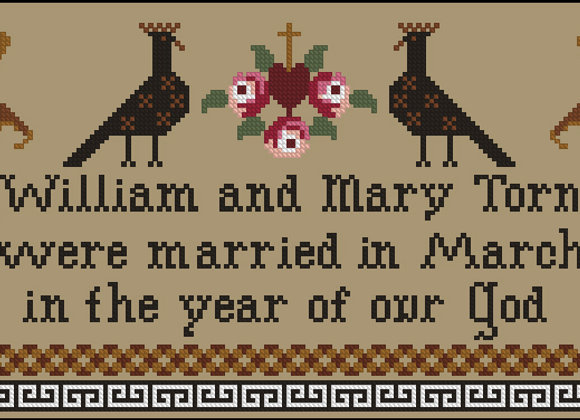 William and Mary Married in March