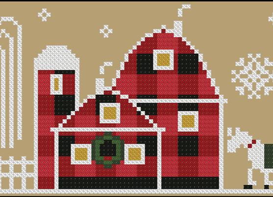 Rustic Christmas Series Old Barn
