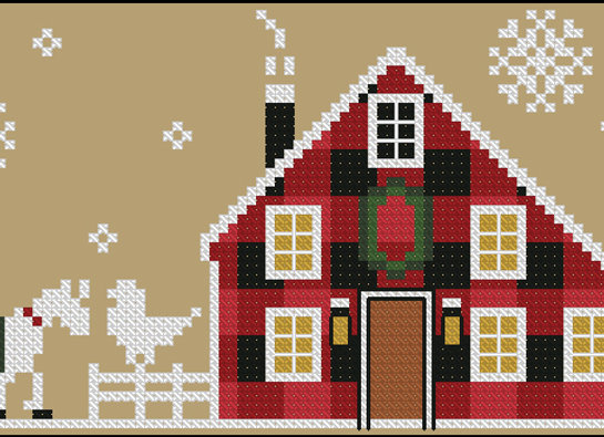 Rustic Christmas Series Little House