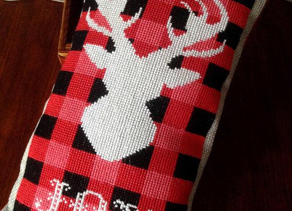 Rustic Christmas Series Reindeer Joy