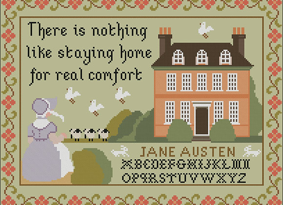 Jane Austen 1815 Sampler