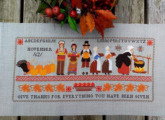 Thanksgiving 1621 Sampler