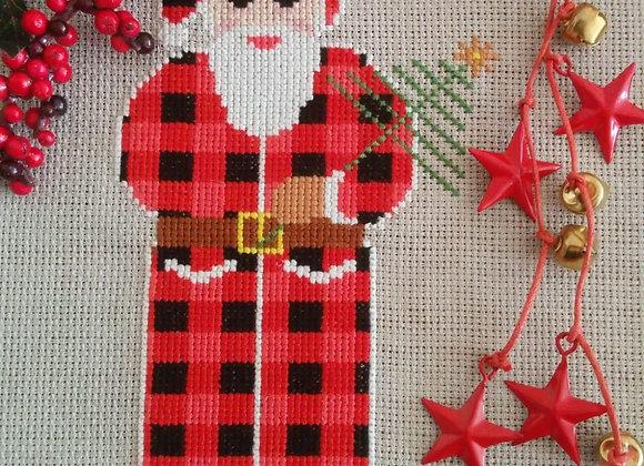 Rustic Christmas Santa Clause