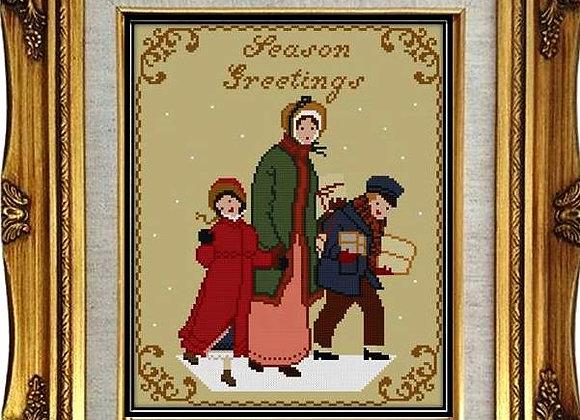 Victorian Christmas Mini Series, Season Greetings