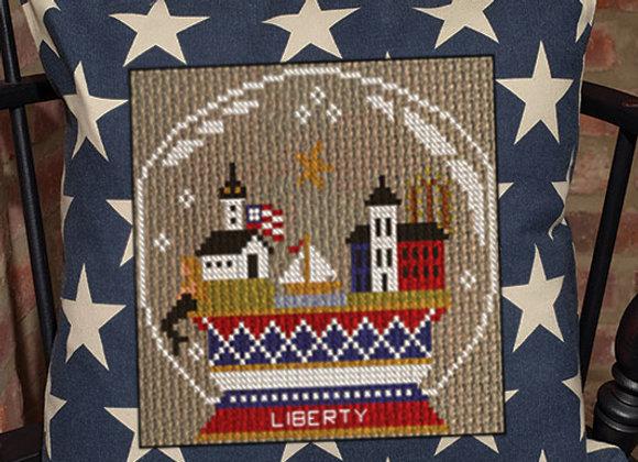 "A Patriotic Summer Series ""Liberty Snow Globe"""