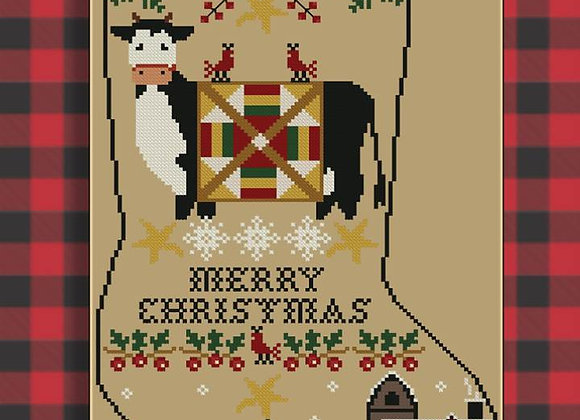 Rustic Christmas Series Stocking III
