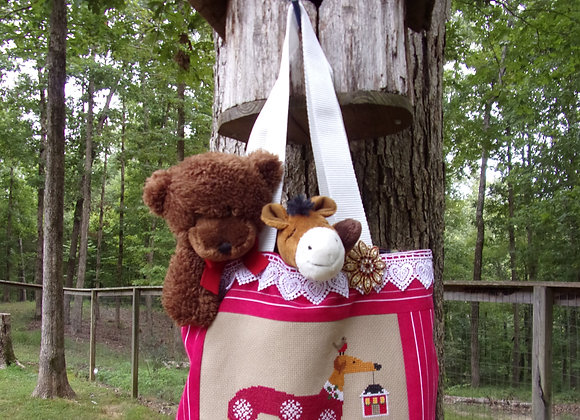 Home For the Holidays Mini Series Tote 1