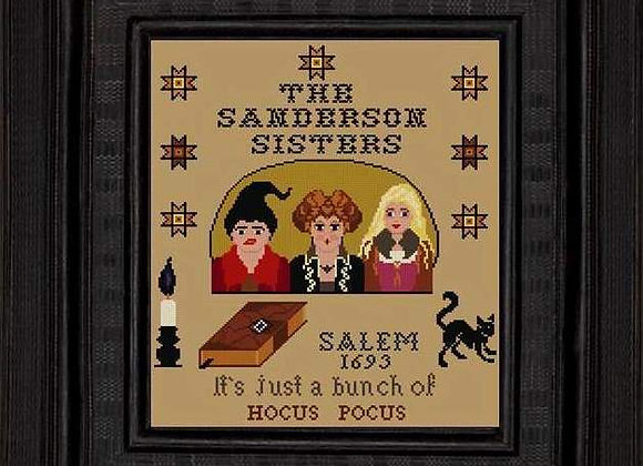 The Sanderson Sisters Hocus Pocus