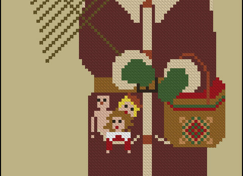 Woodland Santa with Lantern