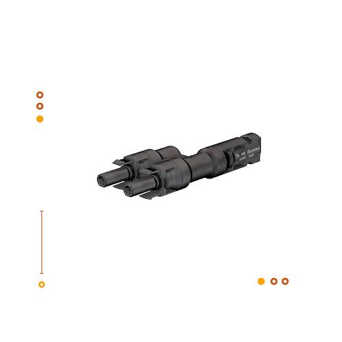 Conector MC4 paralelo PV-AZB4