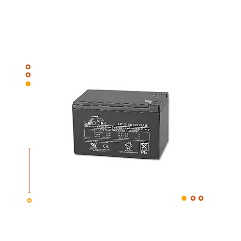 Bateria AGM R-1212 / 12Ah@12V