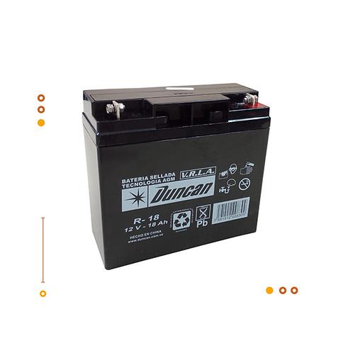 Bateria AGM R-18 / 18Ah@12V