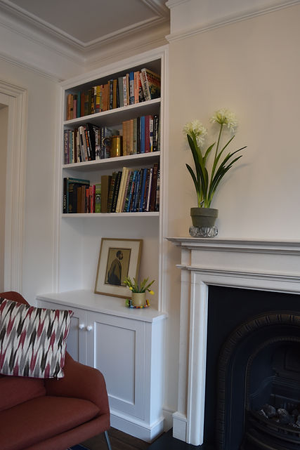 fitted alcove cupboards wimbledon