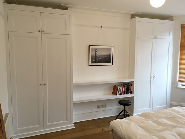 Fitted wardrobes palmers green