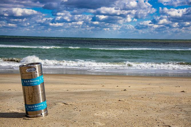 R&R Brewing Beach Keg
