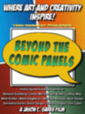 Beyond the Comic Panels Poster (1200x160