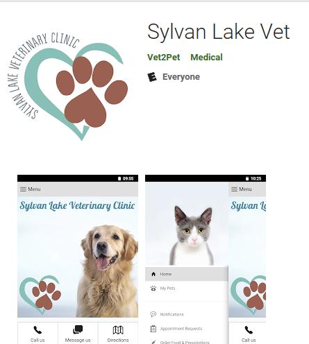 Sylvan Lake Vet App