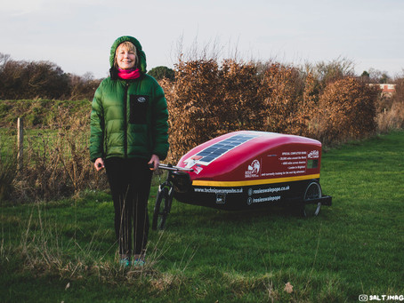 SALT.TALKS with Lifetime Adventurer, Rosie Swale Pope. MBE.