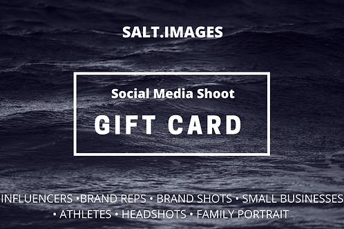 Social Media Shoot Gift Card
