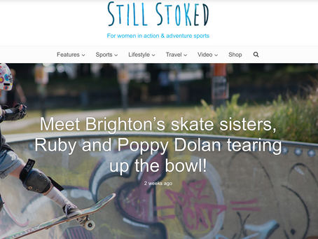 Meet Brighton Skate Sisters, Ruby and Poppy Dolan!