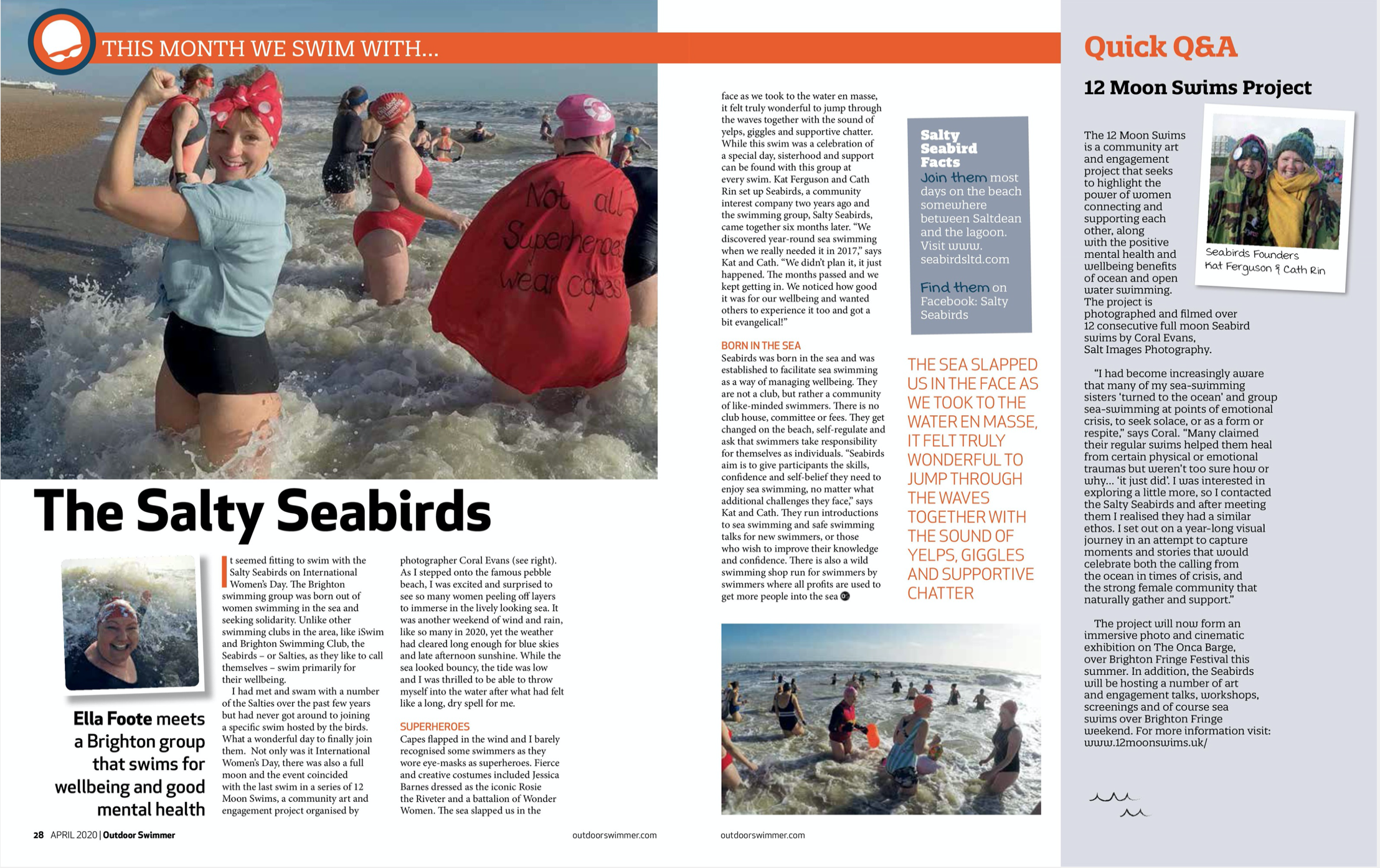 Outdoor Swimmer Magazine - April 2020