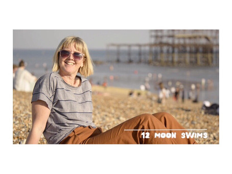 12 Moon Swims with Brighton's Salty Seabirds.