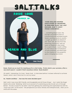 Profile Copy: Rosie Cook