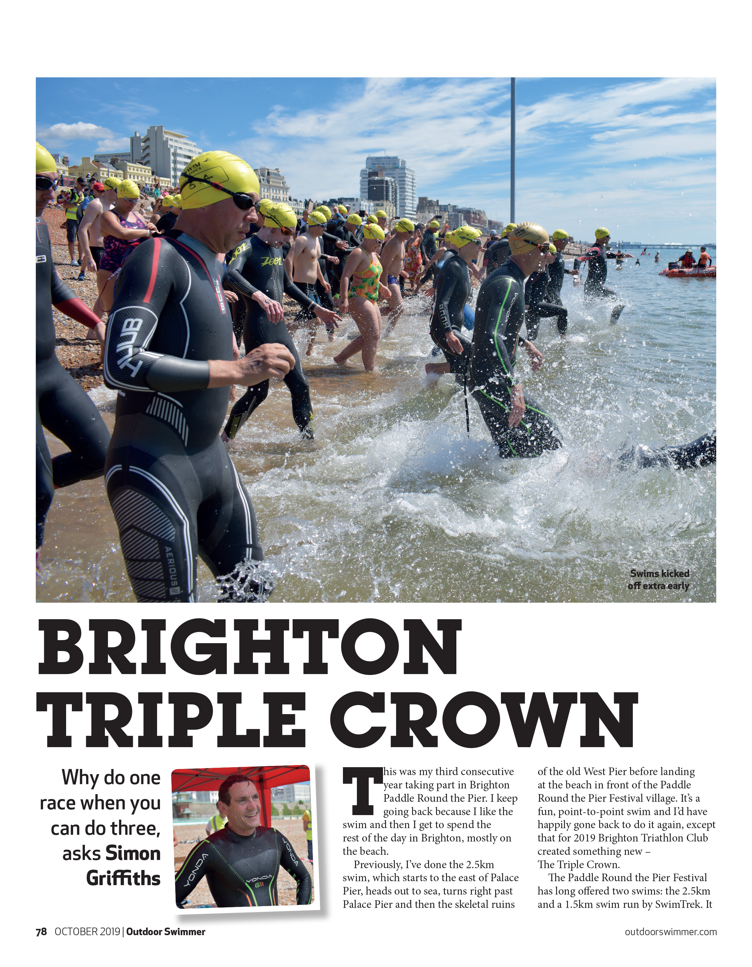 Outdoor Swimmer Magazine October '19